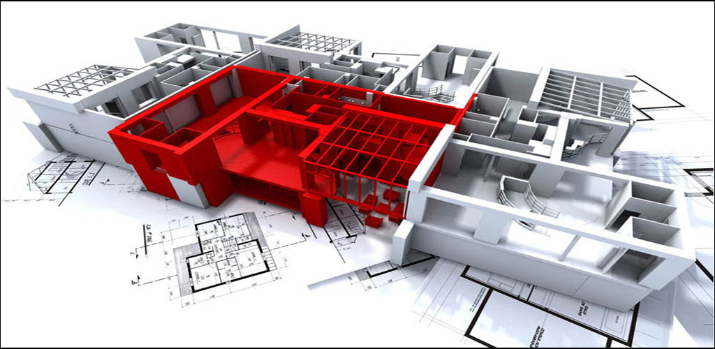 Floor plan design in AUTOCAD